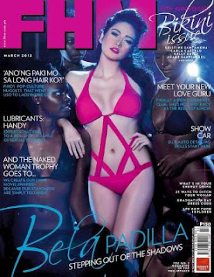 Bela Padilla FHM Philippines March 2012