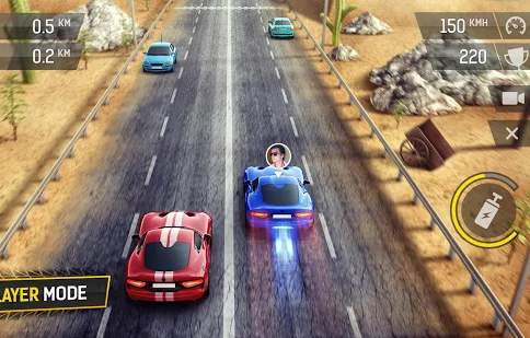 Racing Fever Nitro Car Video Game For Mobile