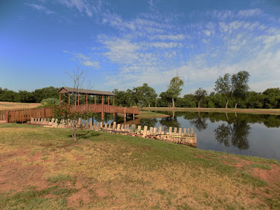 Wichita Falls RV Park's Pond