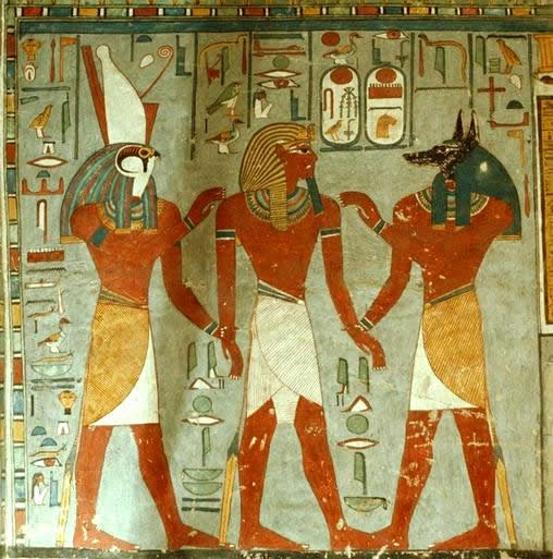Pharaoh role in religion
