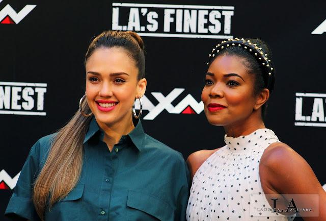 Jessica Alba y Gabrielle Unión
