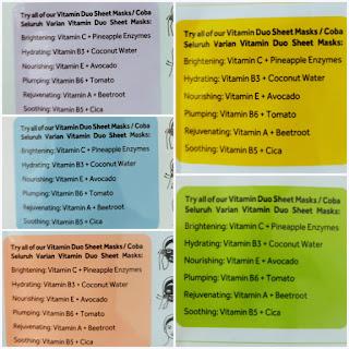 Ponds Sheet Mask Ingredients