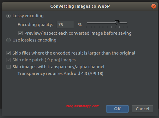 Converting Images to WebP
