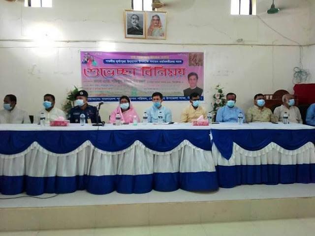 কোটচাঁদপুরে শারদীয় দূর্গাপূজা উদযাপন উপলক্ষে শুভেচ্ছা বিনিময়
