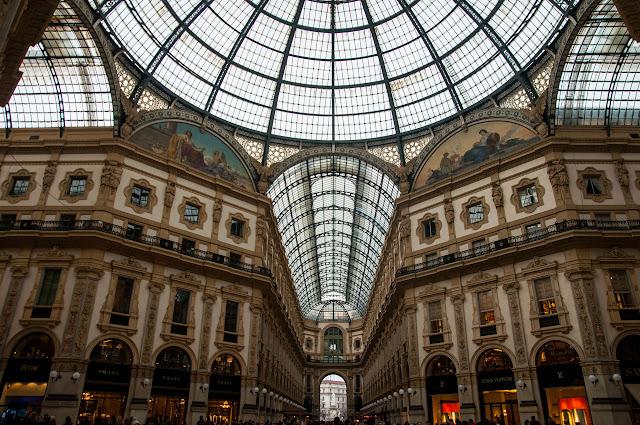 Galleria Vittorio Emanuele II Milán