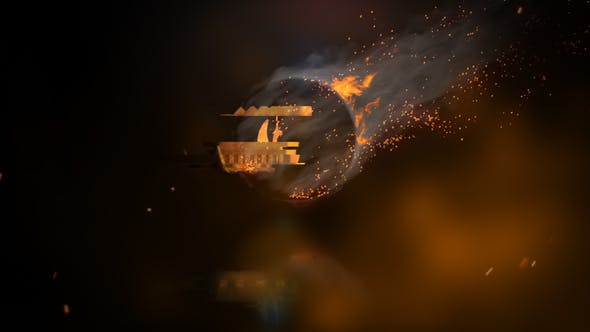 Rotating Fire Logo Reveal[Videohive][After Effects][23438890]