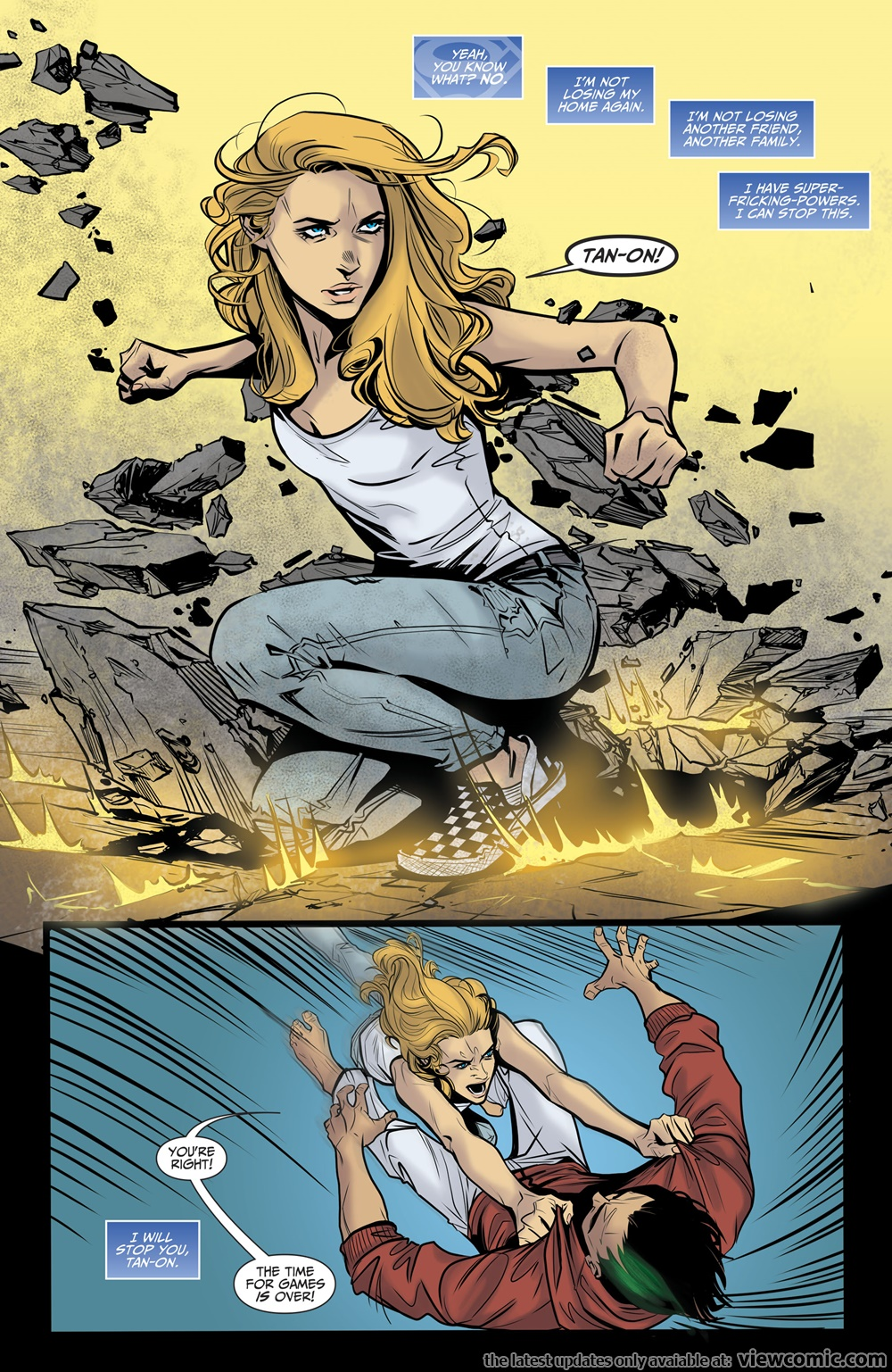 Supergirl – Being Super 004 (2017)  | Vietcomic.net reading comics online for free