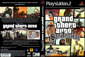 Link Grand Theft Auto San Andreas ps2 ISO Clubbit