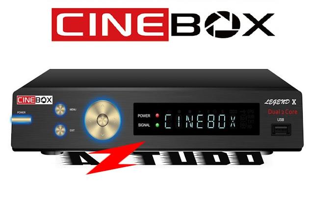 Resultado de imagem para CINEBOX LEGEND X  AZTUDO