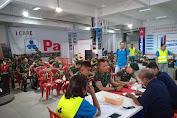 21 Prajurit TNI Yonif RK 136/TS Donorkan Darah di Ambon