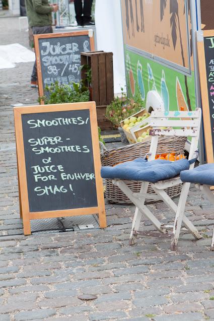 Mercato alla stazione di Norreport-Copenhagen