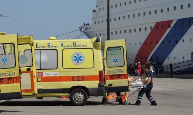 Εθελοντική μετακίνηση Πληρωμάτων Ασθενοφόρου-Διασωστών στους Τομείς ΕΚΑΒ Κω, Κάλυμνο, Μύκονο, Νάξο, Ιο και Κάρπαθο
