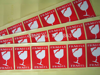 Cetak Sticker Fragile