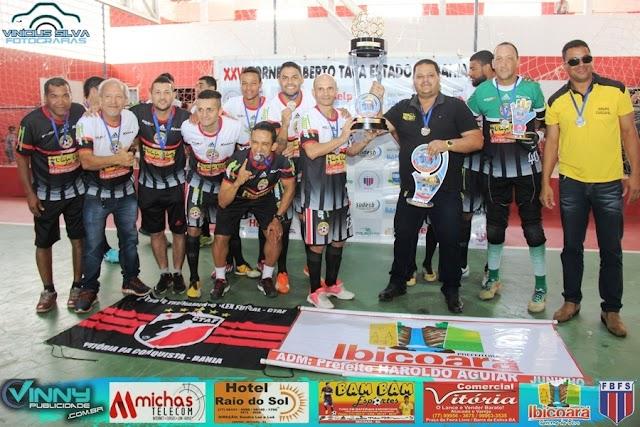 Equipe de Ibicoara Futsal é campeão do XXVI Taça Estado da Bahia 2018