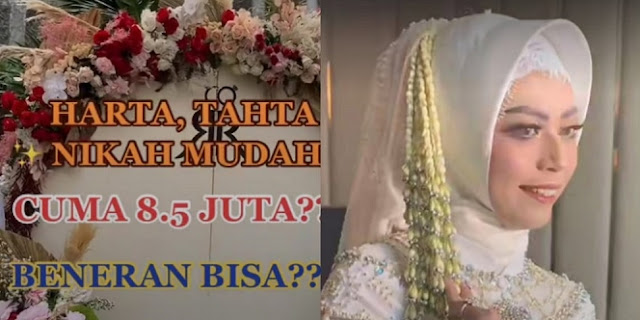 Nikah Cuma 8,5 Juta Aja, Wedding Organizer Ini Bikin Netizen Pengin Cepetan Halal