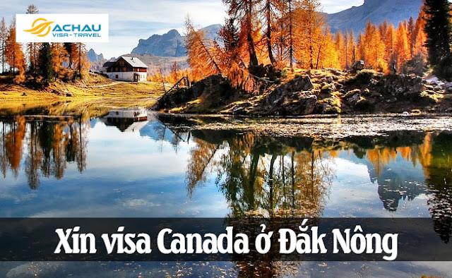 Xin visa Canada ở Đắk Nông