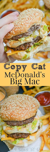 COPY CAT MCDONALD'S BIG MAC