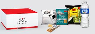 Pack gratis de comida para gato y persona Purina y Nestlé