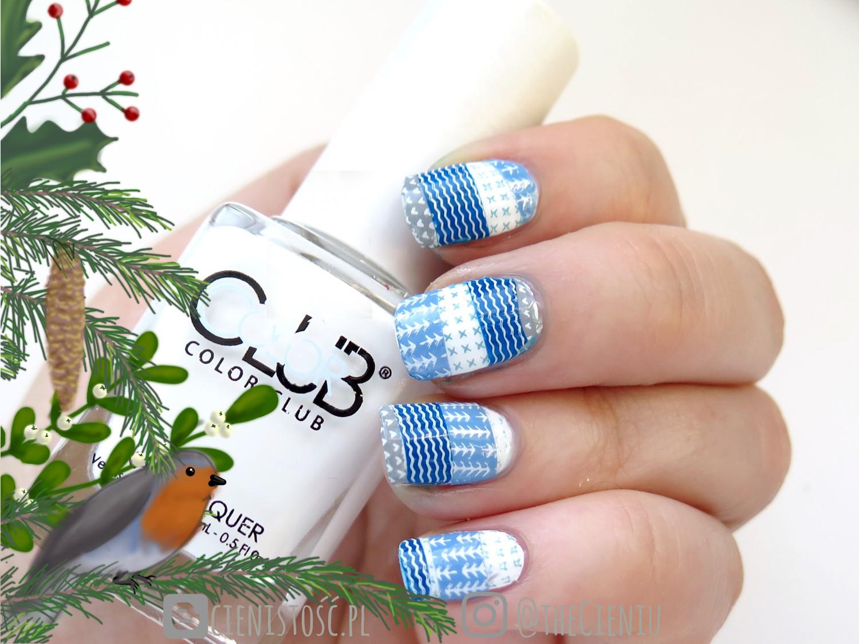 Skandynawskie inspiracje na paznokciach - moje zdobienia na czwarty tydzień #creativenailparty