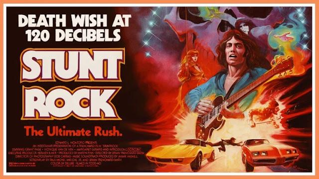 stunt rock movie poster