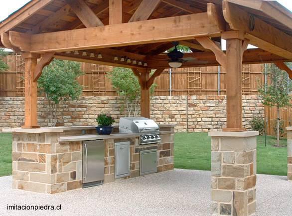 Decoracion Quinchos Abiertos ~ Arquitectura de Casas Modelos de quinchos para asados