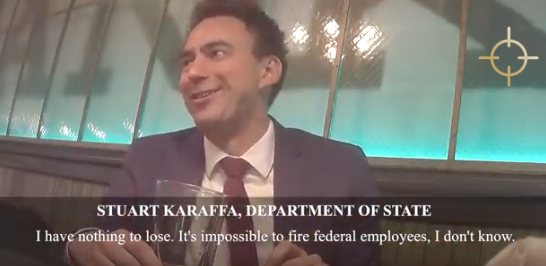"Project Veritas Bombshell Video Exposes ""Resist"" Socialist Employee Inside State Department"