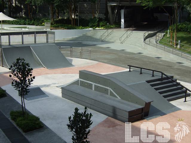 Lion City Skaters Singapore Polytechnic Skate Park