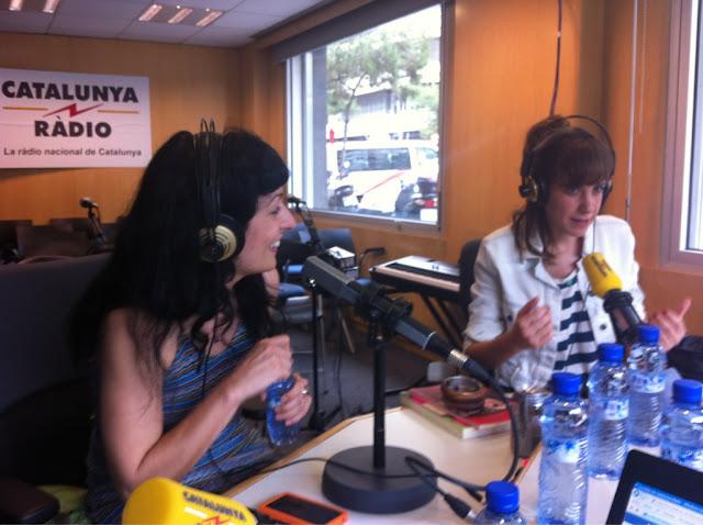 AUDIO | 'La tribu' Catalunya Ràdio, he estat convidada per Bibiana Ballbé