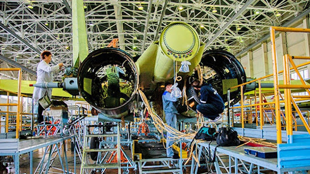 production-of-first-ever-serial-su-57-fighter-jet