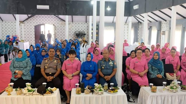 Kapolres Tanjung Balai Hadiri Seminar Kesehatan Inspirasi Sehat Perempuan Sadar Vagina (PSV)