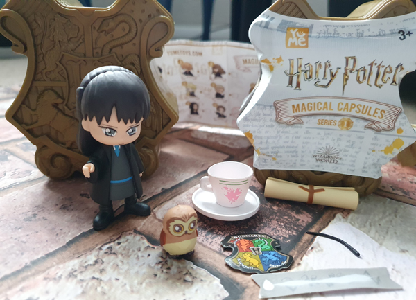Cho inside the Harry Potter Magical Capsules