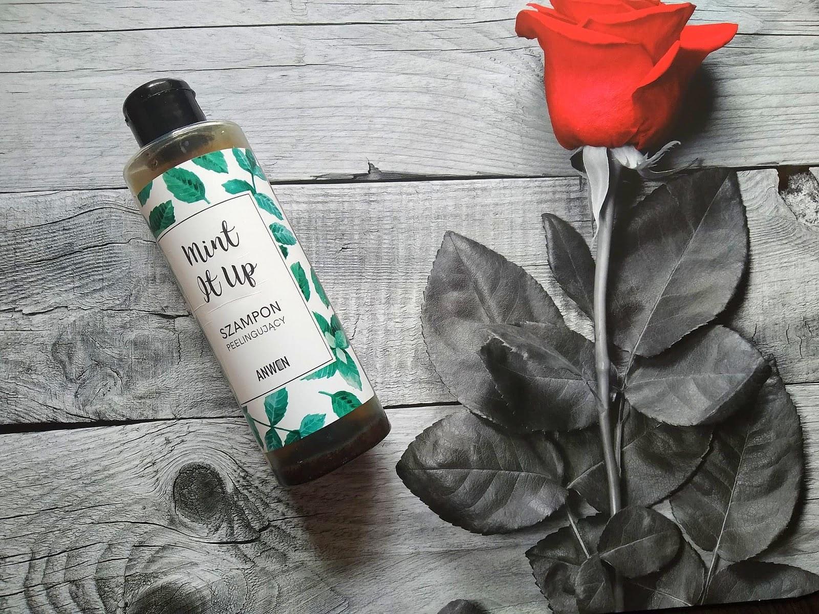 Mint It Up - szampon peelingujący od Anwen
