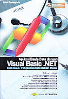 Judul Buku : Aplikasi Basis Data dengan Visual Basic. Net Studi kasus: Pengolahan Data Rekam Medis