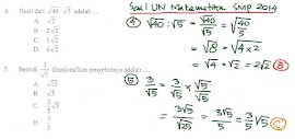 Belajar Matematika Dasar Bentuk Akar