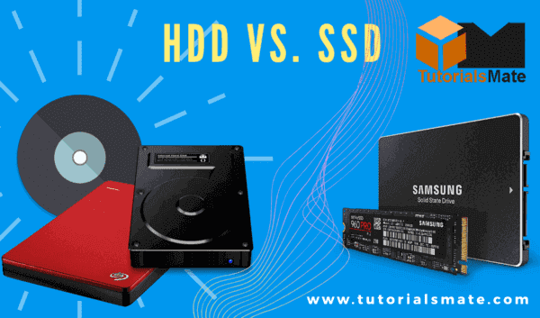 Difference between HDD vs SSD