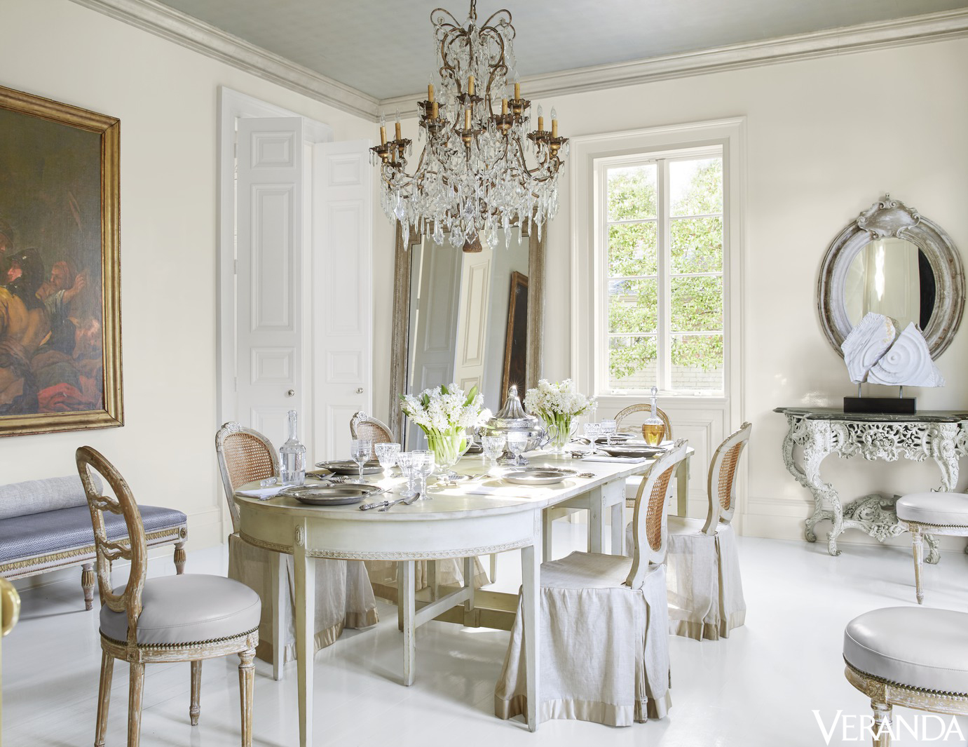 Most Everything Had Just Been Moved From Room To Room. When Veranda Did  Their Feature On The Dining Room Of Tarau0027s House, It Looked Like This:
