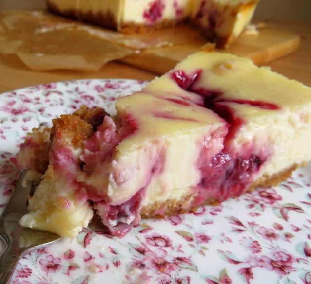 Small Batch Cherry Cheesecake