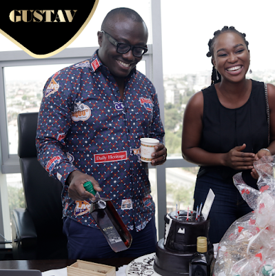 Photos: Gustav Liqueur Celebrates Bola Ray On His Birthday