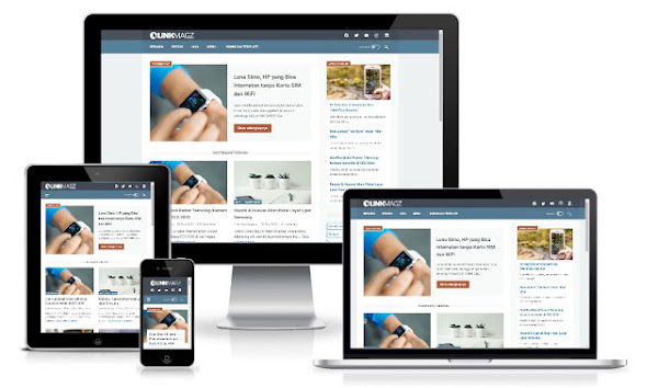 LinkMagz Grid Style v3.0 Premium Blogger Template Free Download