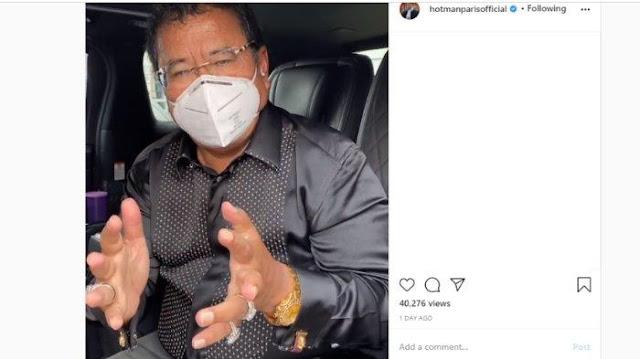 Hotman Paris Bocorkan Isi Chat Anies Baswedan soal Protes PSBB Total