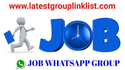 Join Latest Job Whatsapp Group Link 2020