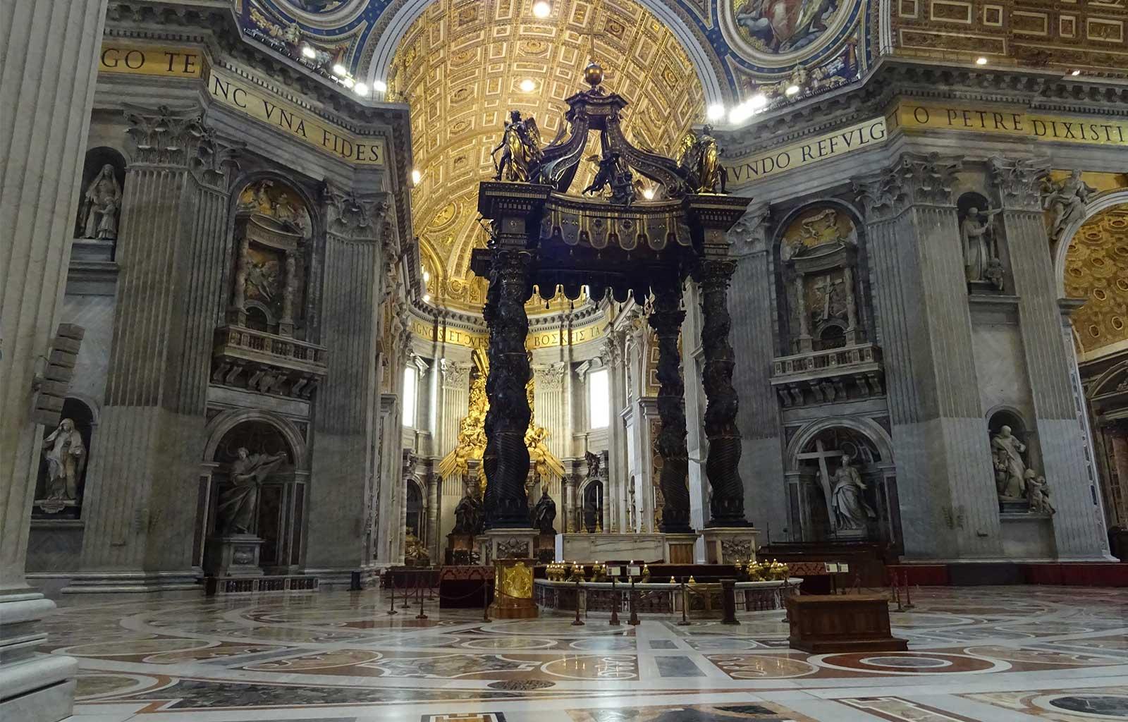 Voyage Italie Rome Basilique Saint-Pierre