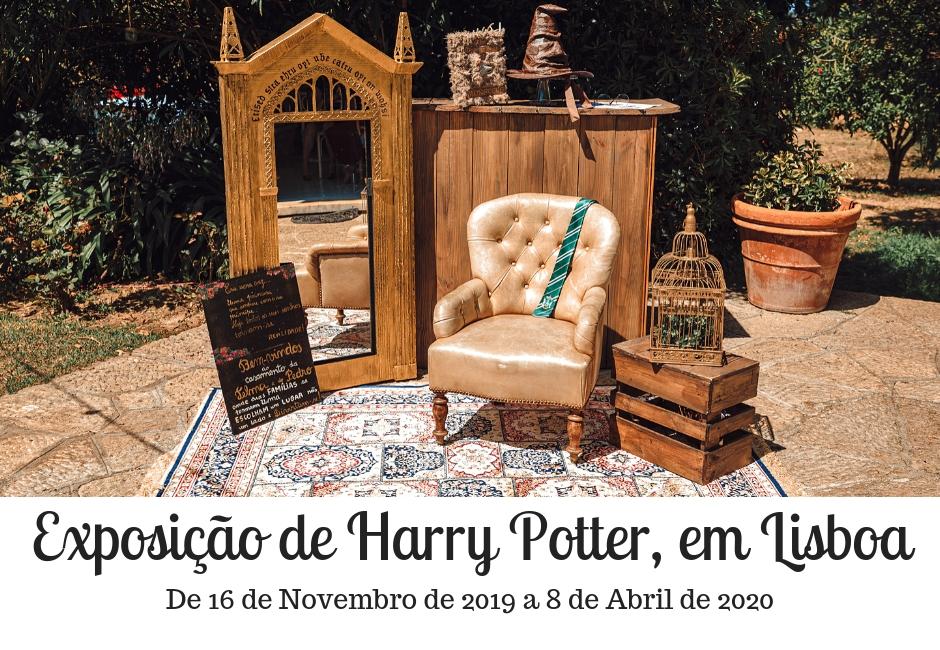 Exposição de Harry Potter em Lisboa + blogue português de casal + ela e ele + ele e ela + pedro e telma + pavilhão de portugal