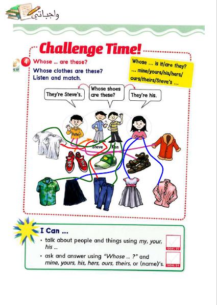 حل كتاب الانجليزي Smart Class 5 سادس ابتدائي