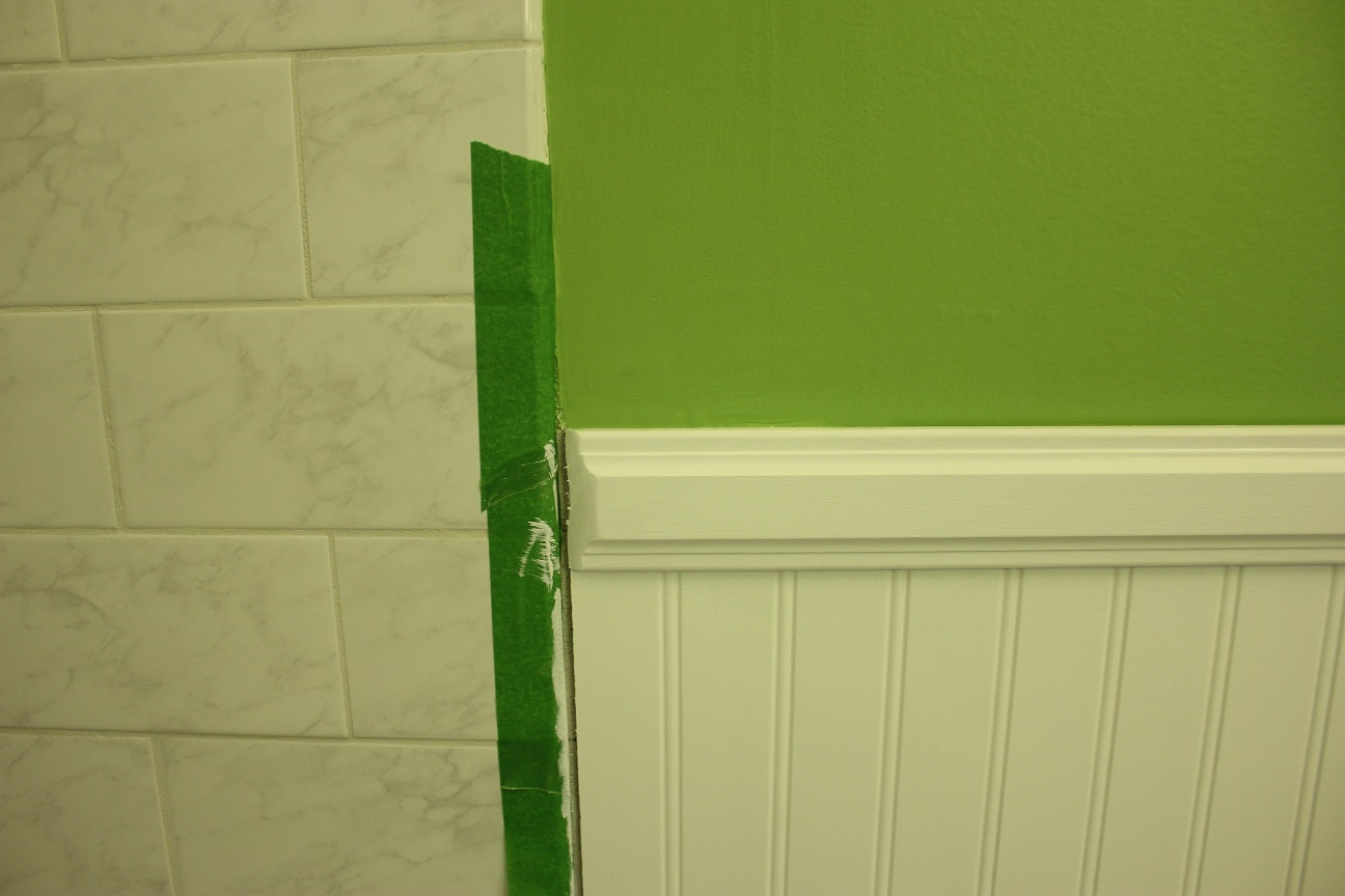 Picture Frame Moulding Below Chair Rail D Box Gaming The Handcrafted Life Downstairs Bath Renovation