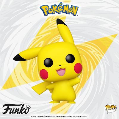 Novo Funko PoP! do Pikachu