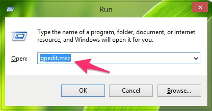 Truy cập Group Policy với command