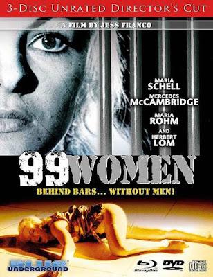 Portada 99 Women (Unrated Edition) Bluray Importación Jesús Franco