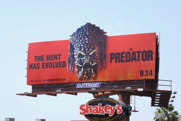 Predator 2018 movie billboard