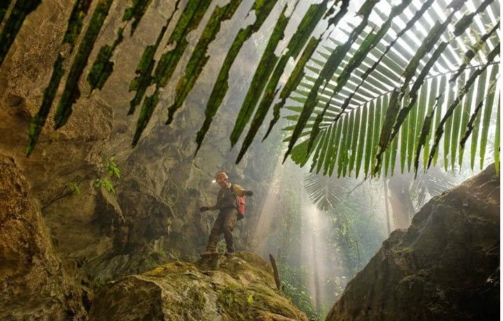 صور من كهف هانج سون دونج فيتنام